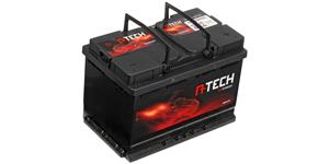 74Ah battery, 640A, right A-TECH 278x175x190