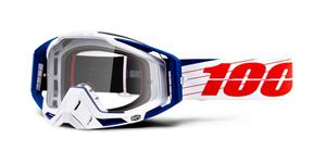 RACECRAFT Goggle Bibal/White - Clear Lens
