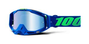 RACECRAFT Goggle Dreamflow - Mirror Blue Lens