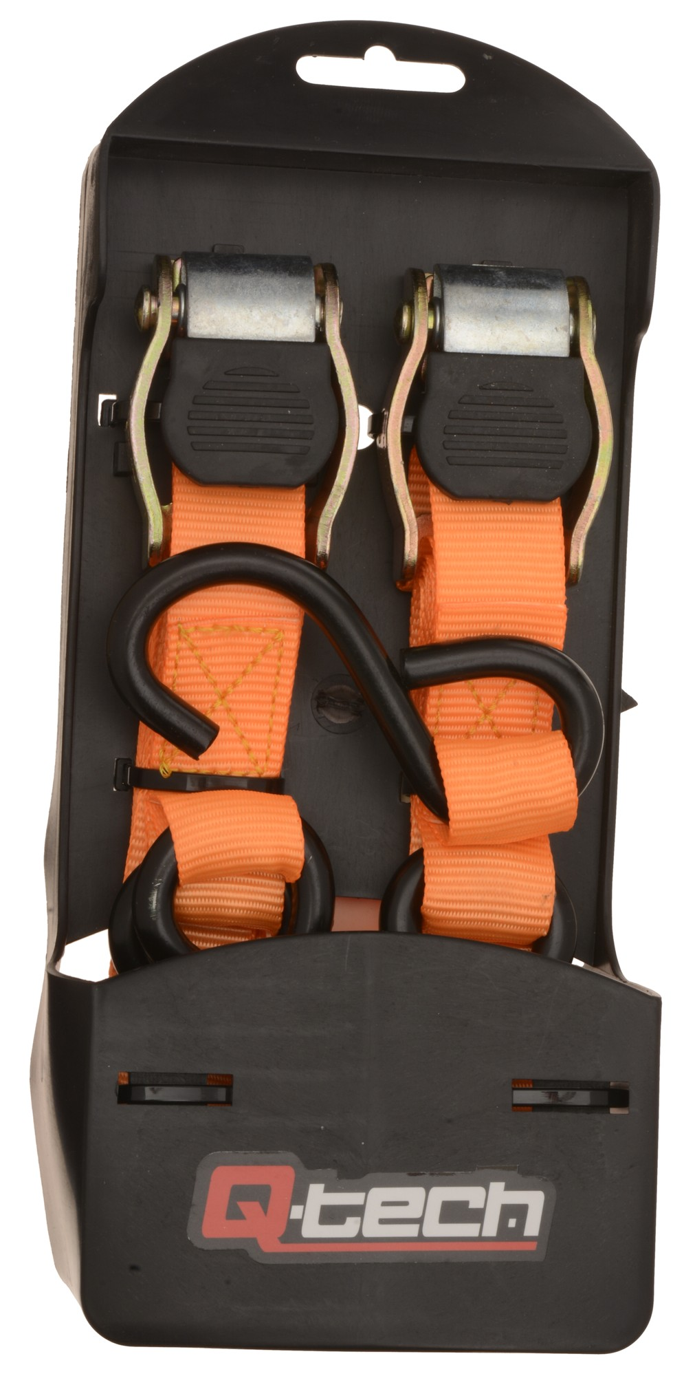 rubber coated tie down, a pair Q-TECH