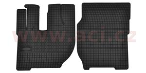 rubber floor mats (set 2 pcs) TRUCK
