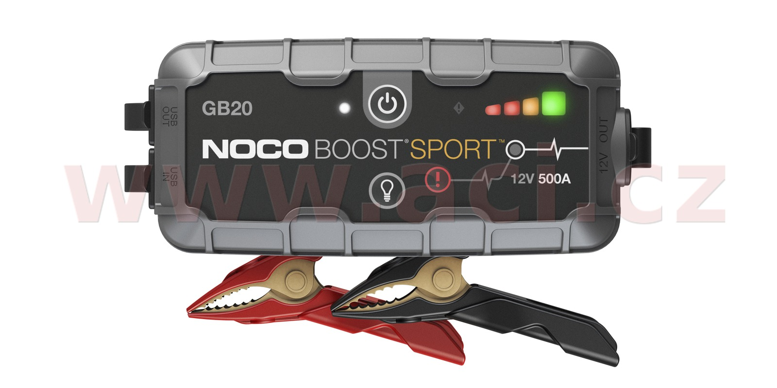 startovací box + power banka, startovací proud 400 A, NOCO GENIUS BOOST SPORT GB20 (NOCO USA)