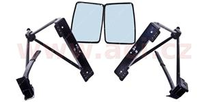 universal additional of rear view mirror karavan with holding for front wing (max.pich holding points 27 cm) (set L+R)