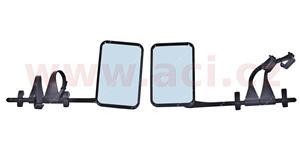 universal additional of rear view mirror karavan with holding for mirror (set L+R)