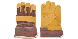 utility gloves leather (universal size)
