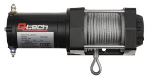 winch with steel cable Q-TECH